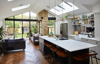 Room Tour: A Hint of Victorian Style Softens a New Extension