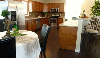 Kitchen, after Staging