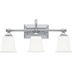 Traditional Bathroom Vanity Lighting by Quoizel