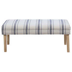 Farmhouse Upholstered Benches by HomeFare