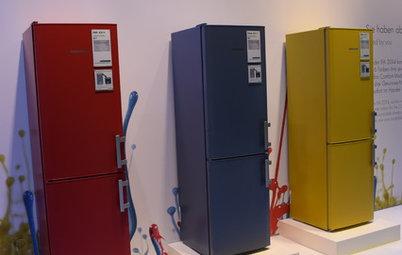 インテリア 家電最新レポート:ドイツ「IFA2015」で見つけた、カラフルな最新冷蔵庫!