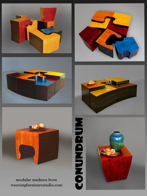 Modular Nesting Tables - Coffee Tables