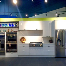 White Cabinets & GE Cafe, the look you know that you love