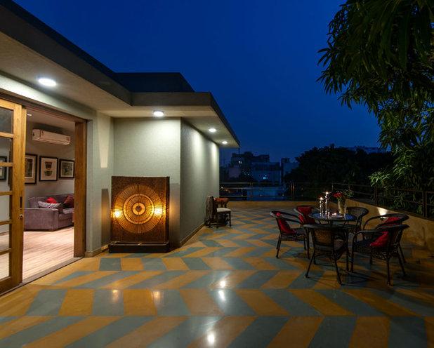 Contemporary Terrace by Chromed Design Studio