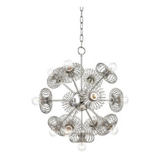 Serena 13-Light Chandelier Polished Nickel Finish