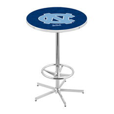 L216 - 42-inch Chrome North Carolina Pub Table by Holland Bar Stool Co. by Holland Bar Stool Company