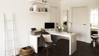 Интерьер квартиры в Москве площадью 60 кв м. Проект реализован.