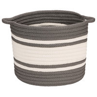 "Outland Basket - Grey 14""x14""x12"""