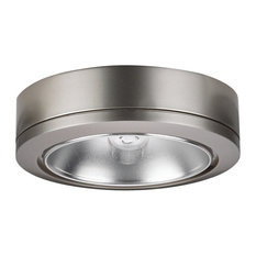 Sea Gull Lighting 9858-962  Puck Light, Brushed Nickel