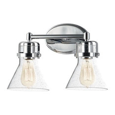 Maxim Lighting Seafarer 2-Light Bath Vanity, Polished Chrome