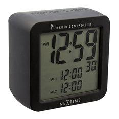 Square Radio Controlled Alarm Clock