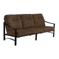 Kenzo Cushion Sofa, Obsidian Frame, Tucson Creek Cushion