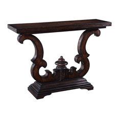 Console Table Cambridge Dark Rustic Solid