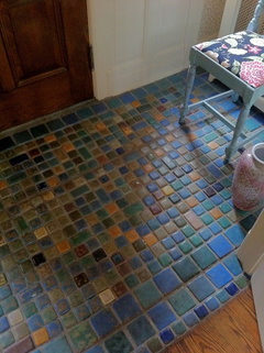 Anyone use pewabic tile? on subway tile for shower ideas, subway tile for bathroom, subway tile for backsplashes, subway tile for granite countertops, subway tile for small kitchens,