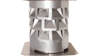 Chimney Stack Cowl, 130 Mm