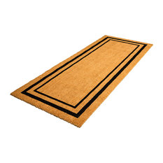 MOD   Aloha Large Coir Door Mat With Black Border   Doormats