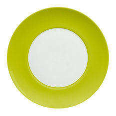 Uno Dinner Plates, Set of 4, Green