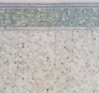 Penny Round Mosaic Tiles   Mosaic Tile Part 67