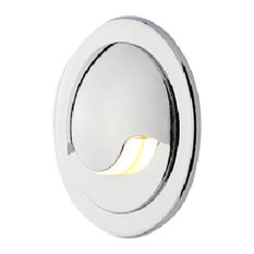 Como Single Beam LED Accent - 2900K - Chrome