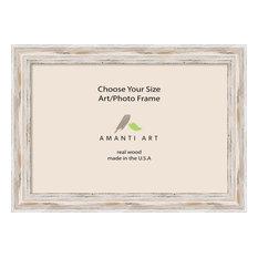 "Art/Photo Frame, Alexandria White Wash, 35""x25"""