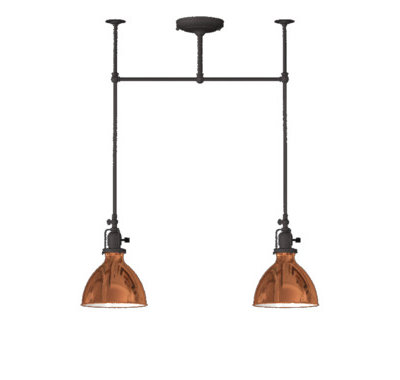 Industrial Chandeliers by Rejuvenation