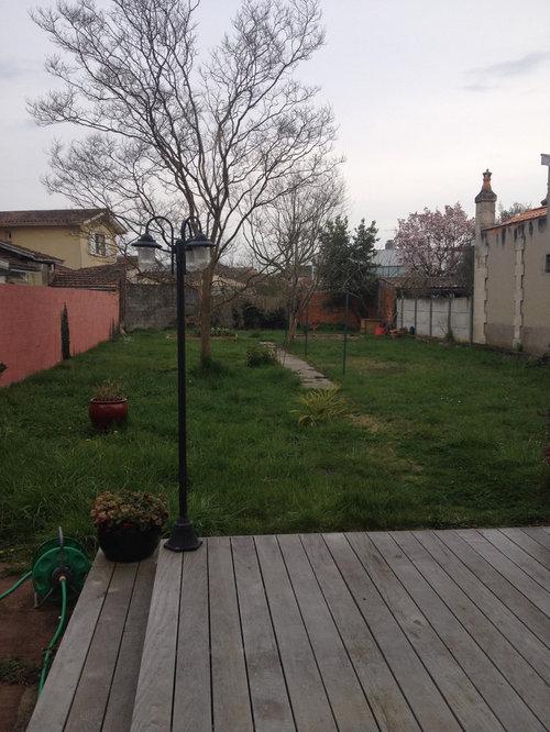 nous allons peu dans le jardin car il nest pas amnag ni trs cosy je suppose quil faut crer des espaces casser le rectangle mais comment