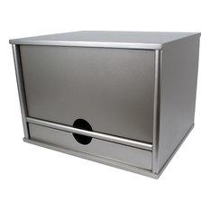 Desktop Organizer, Silver