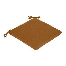 Sunbrella Seat Pad, Canvas Teak