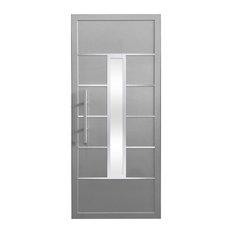 Cbw Windows And Doors Lyra Door 32 X88 Silver Gray