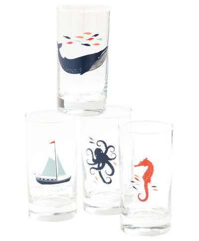 Contemporary Beer Glasses by ModCloth