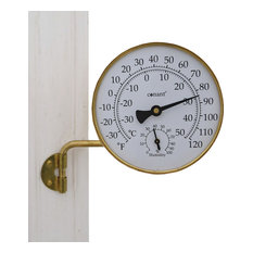 Vermont Weather Station, Living Finish Brass