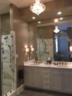 I Based My Master Bath Loosely On One Of The Photos In Your Article Because Love A Venetian Mirror Thanks For History And Lovely