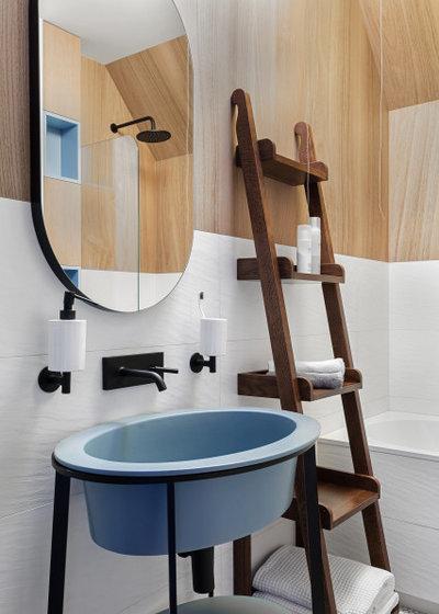 Современный Ванная комната by goro_da