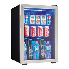 Danby DBC026A1 18 Inch Wide 95 Can Capacity Free Standing Beverage Center with