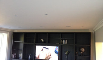 Home cinema with recessed speakers!