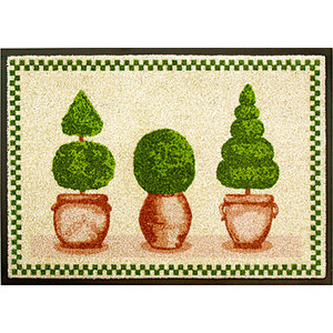 Easy Clean Boxwood Doormat, Small