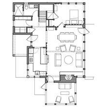 Maison toit cathedrale et fenetration importante - Plan maison toit cathedrale ...