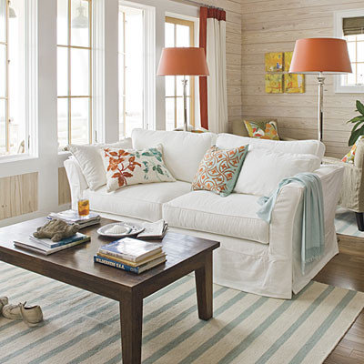 Beach Style  by Tracery Interiors