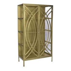 Display Cabinet DOVETAIL PITTMAN Metal New 2