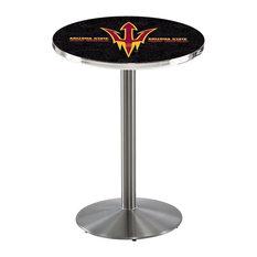 Arizona State Pub Table with Pitchfork Logo 28-inchx36-inch by Holland Bar Stool Company