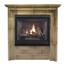 """Superior 45"""" Direct Vent Top/Rear Electronic Ignition Fireplace, Natural Gas"""