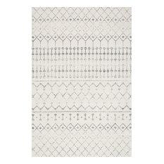 Moroccan Trellis Rug, Gray, 12'x15'