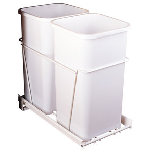 RV SERIES Double Waste Containers Individual Pack Containers//Full-Extension Slides Double 27 qt