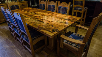 Southwestern Spalted Pecan Table