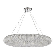 Crystal Ring Chandelier Modern Contemporary Lighting Floating Orb Chandelier