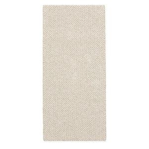 Ella Beige Vinyl Floor Cloth, 70x200 cm