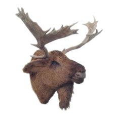 Moose Head Wall Mount - Life Size!