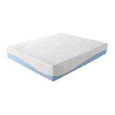 COOL 10 Inch Memory Foam Blue Twin