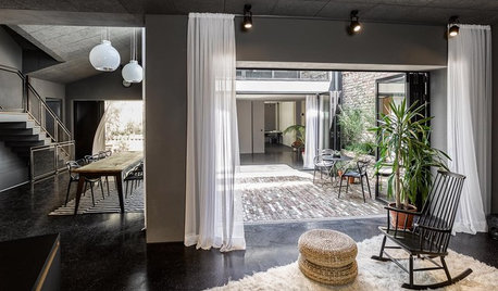 Houzz Tour: A Bakery Turns Into an Industrial-Style Home