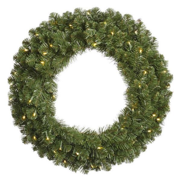 Vickerman Grand Teton Double Sided Wreath, 36